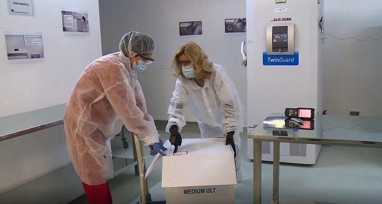 De ce este transportat vaccinul anti-COVID-19 în cutii de pizza. Explicațiile Institutului Cantacuzino