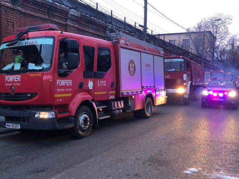 """BREAKING NEWS Incendiu la Institutul """"Matei Balș"""". Patru decese"""