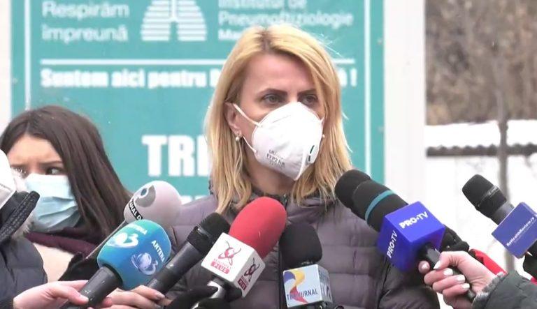 VIDEO Patru pacienți de la Institutul Matei Balș au fost aduși la Institutul Marius Nasta