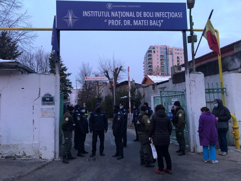 """Incendiu """"Matei Balş"""": Colegiul Medicilor din București își exprimă regretele și anunță o verificare"""