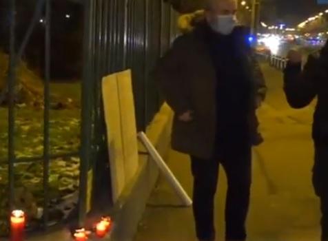 """Protest la Spitalul """"Matei Balş"""" din Capitală"""