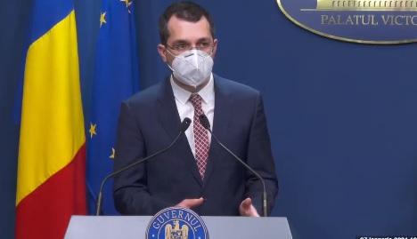Raportul lui Voiculescu: Cele mai importante măsuri din ultimele trei luni pentru combaterea pandemiei