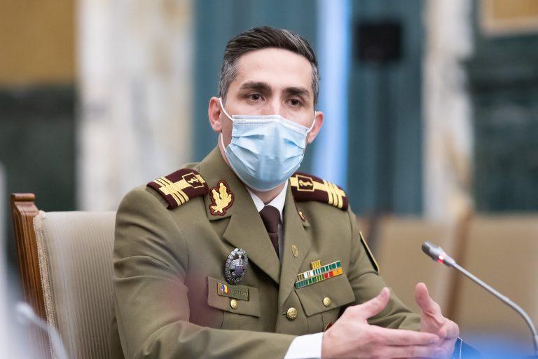 Valeriu Gheorghiță: Reducere cu aproape 90% a cazurilor de COVID-19 în spitale