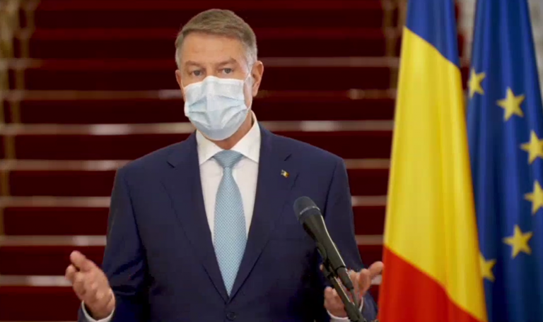 Klaus Iohannis: Suntem departe de a putea spune că s-a terminat pandemia