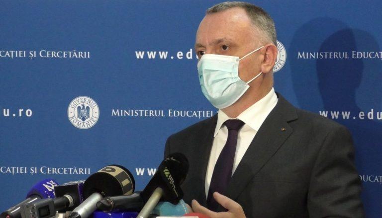 Sorin Cîmpeanu: Peste 38% din personalul din învățământ, vaccinat anti-COVID-19