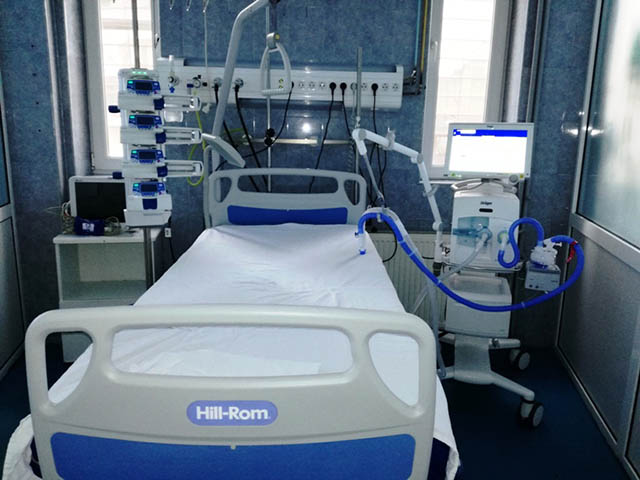 Reacția SCJU Sibiu, după dezvăluirile din ATI, privind sedarea si legarea de pat a pacienților cu COVID-19