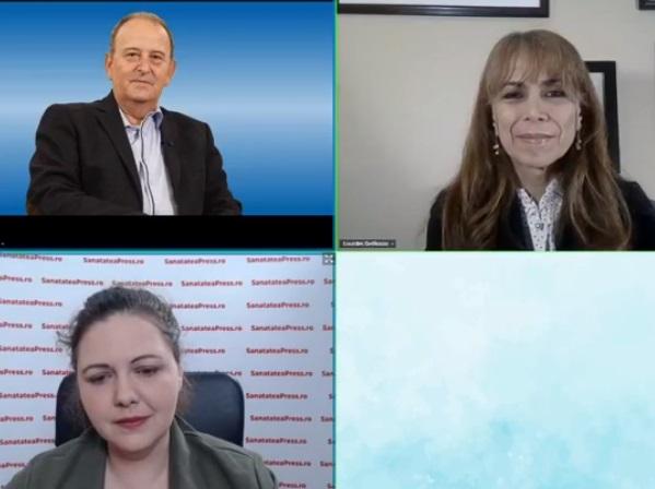 """EXCLUSIV Conf. dr. DelRosso și prof. Dr. Mihălțan, la """"Voci pentru sănătate"""""""