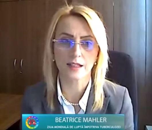 Șef lucr.dr.Mahler, despre scăderea cazurilor diagnosticate de tuberculoză în România