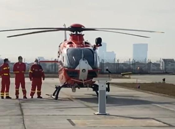 Inspectoratul General de Aviație al MAI a recepționat trei elicoptere SMURD, pentru situațiile de urgență