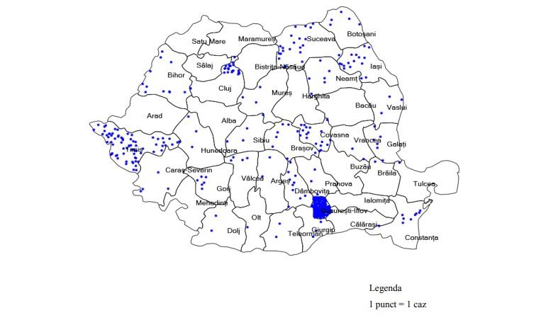 INSP: Tulpina britanică a SARS-CoV-2, în 71,4% din județele țării