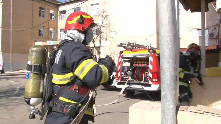 Alertă de incendiu la un spital în Argeş. Ministerul Sănătății: Pacienţii au revenit în saloane