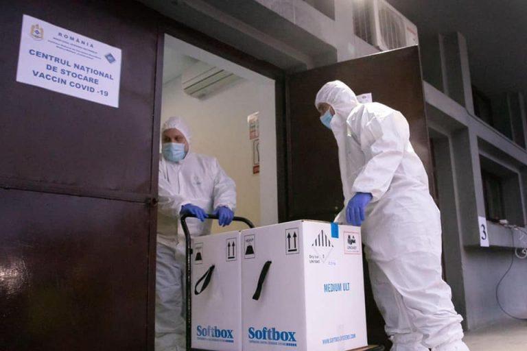 """O nouă tranșă de peste 128.000 doze de vaccin Moderna ajunge, vineri, la Institutul """"Cantacuzino"""""""