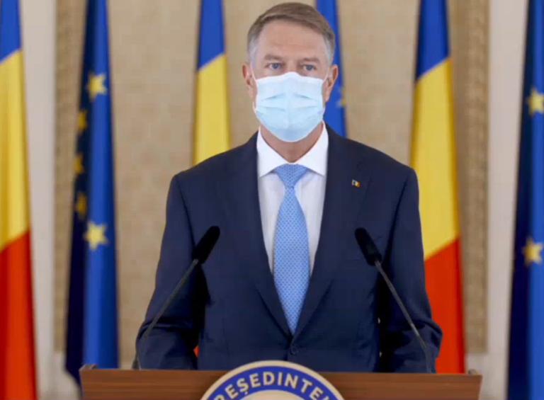 Iohannis: Încă traversăm o perioadă dificilă din punct de vedere epidemiologic