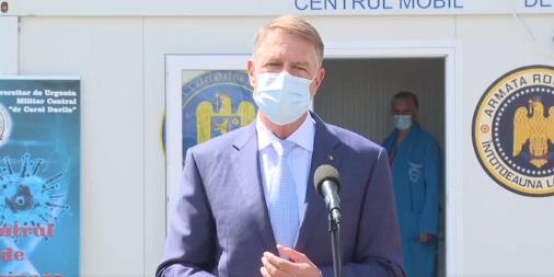 Centrul de vaccinare anti-COVID de la Spitalul Militar din Constanţa, vizitat joi de președinte și premier