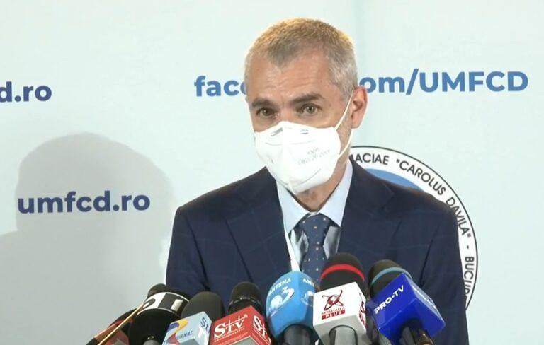 Conf. Dr. Mihai Craiu, despre purtarea măştii de protecţie în interior: Este extrem de importantă