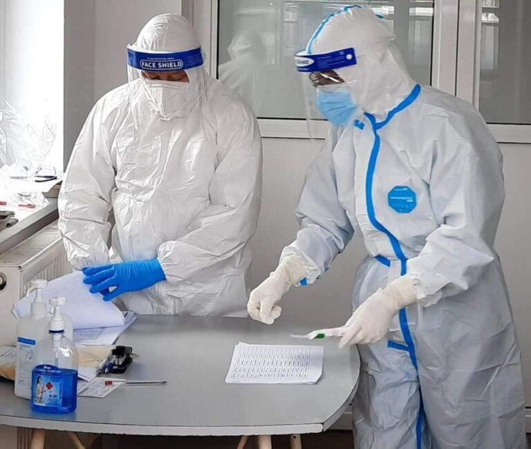 GCS a anunțat sub 1.000 de cazuri zilnice de persoane infectate