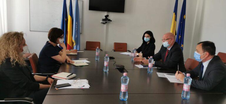 Ministrul Sănătății, întrevedere cu ambasadorul Danemarcei în România