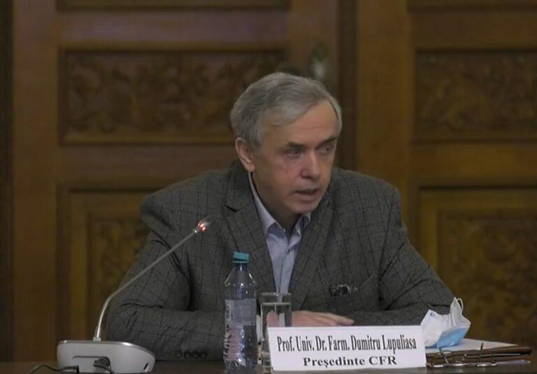 Prof.Univ.Dr. Farm. Lupuliasa: Ne-am propus să fim în rând cu farmaciștii Comunității Europene