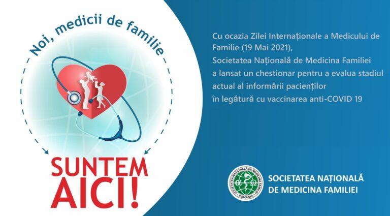 SNMF: Relația pacient-medic de familie este una solidă, de încredere reciprocă