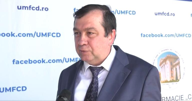 """VIDEO Prof. Univ. Dr. Viorel Jinga, despre examenul de admitere la UMF """"Carol Davila"""" București"""