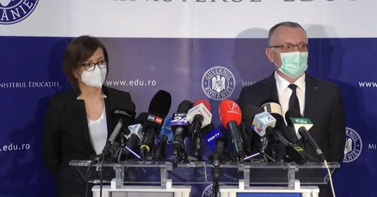Coronavirus:Ministrul Sănătății a explicat ce se întâmplă atunci când apare un caz pozitiv în rândul elevilor