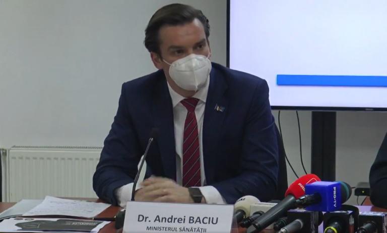 Andrei Baciu: Avem un stoc de 14.000 flacoane de Remdesivir